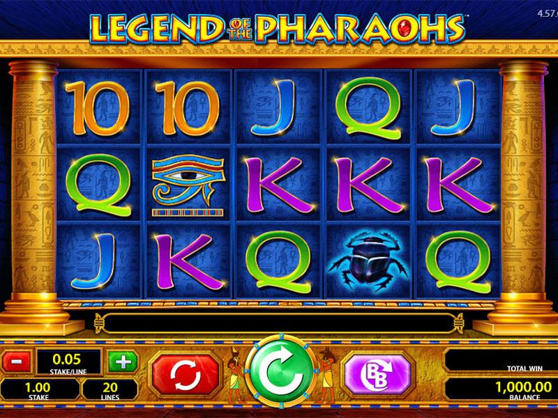 Legends Of The Pharaohs Slot: The Egyptian Charm