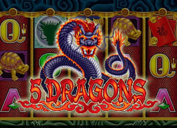 5 Dragons Pokie