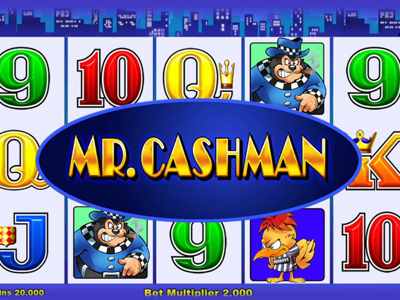 All About Mr Cashman Slot Machine Game