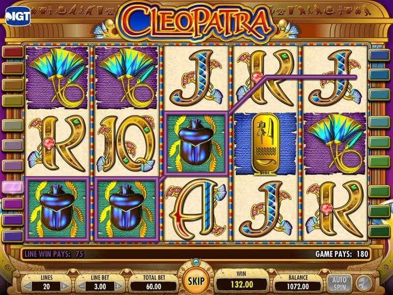 The Enchantment Of The Cleopatra Slot